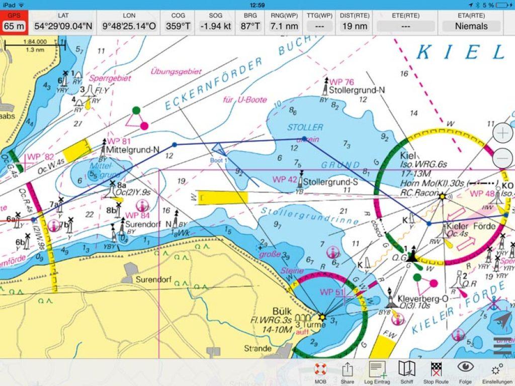 seekarten Elektronische Seekarten – Skipper Bootshandel seekarten