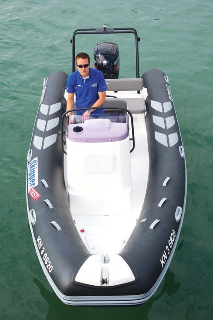 BRIG 1 Boot von oben