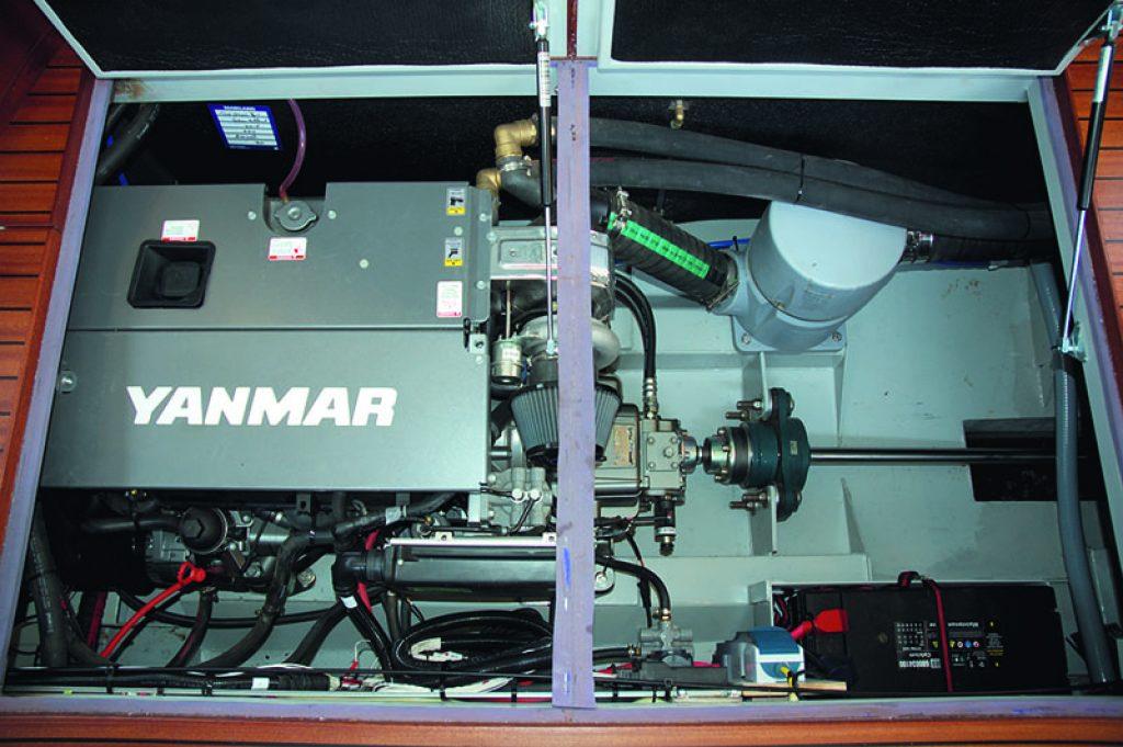 PIKMEER 13 Maschinenraum